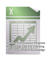 Student-Performance Progress Monitoring Tool