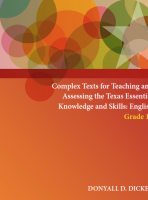 Complex Texts for Teaching and Assessing the Texas Essential Knowledge and Skills: English Grade 11